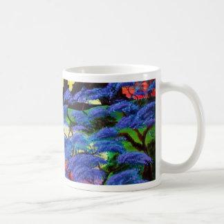 すみれ色のエデン コーヒーマグカップ