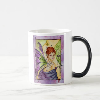 すみれ色の妖精のマグ モーフィングマグカップ
