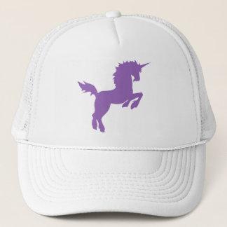 すみれ色の帽子の収集できる色のユニコーン キャップ