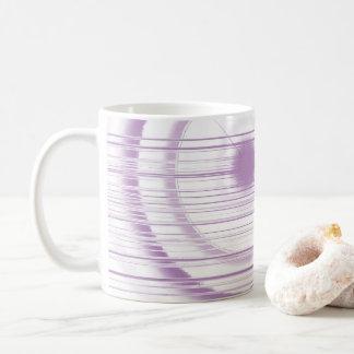 すみれ色の点 コーヒーマグカップ