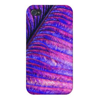 すみれ色の羽 iPhone 4 カバー