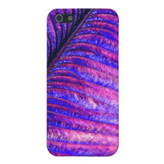 すみれ色の羽 iPhone 5 ケース