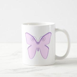すみれ色の蝶 コーヒーマグカップ