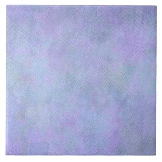 すみれ色の青い水彩画の紙の背景のテンプレート タイル