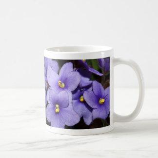 すみれ色のBoquet コーヒーマグカップ