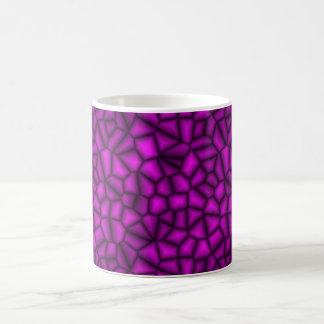 すみれ色のFlagstone コーヒーマグカップ