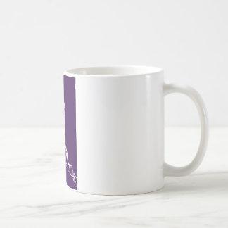 すみれ色 コーヒーマグカップ