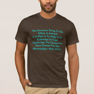 するべき慈悲深い事時苦痛のAnimalIs… Tシャツ