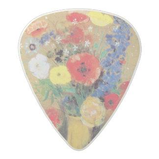 ずっとネックのつぼの野生花、c.1912 アセタール ギターピック