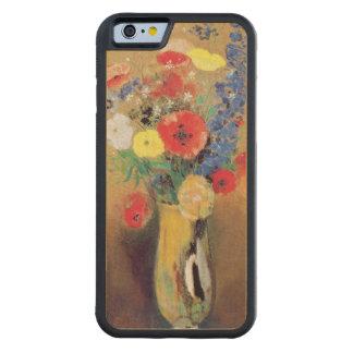 ずっとネックのつぼの野生花、c.1912 CarvedメープルiPhone 6バンパーケース