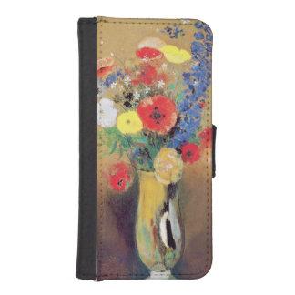 ずっとネックのつぼの野生花、c.1912 iPhoneSE/5/5sウォレットケース