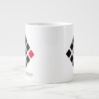 ずっと同化されたマグです ジャンボコーヒーマグカップ