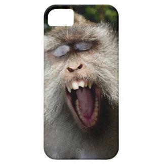 ずっと後につかれたマカク属(Macacaのfascicularis) iPhone SE/5/5s ケース