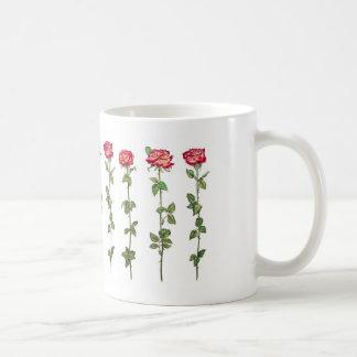 ずっと茎のバラ コーヒーマグカップ