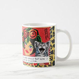 ずっとMUG-ITは美しいです今私は叫ばなければなりません コーヒーマグカップ