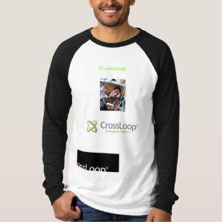 ずっとsleve Crossloop -イライラしたか。 Tシャツ