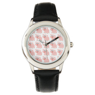 そう多くのブタ 腕時計