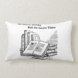 そう多くの本の枕 ランバークッション