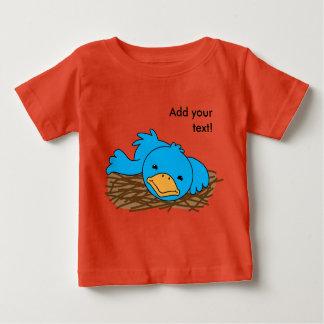 そう早いない鳥 ベビーTシャツ