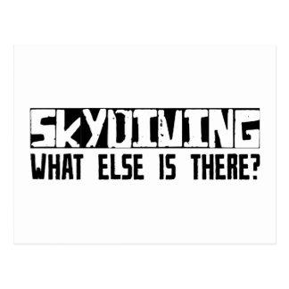 そこにあるか他に何がSkydivingか。 ポストカード