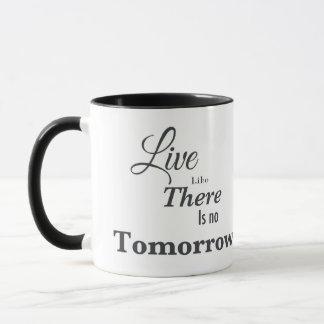 そこにのように明日あります住まないで下さい マグカップ