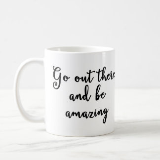 そこに出かけ、マグを驚かせています コーヒーマグカップ