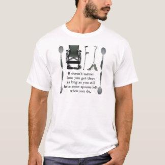 そこに着いて下さい Tシャツ