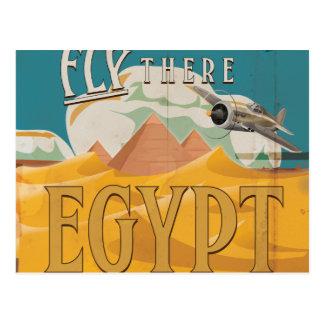 そこのはえ-エジプト ポストカード