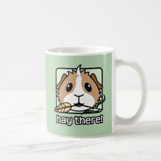 そこの干し草! (モルモット) コーヒーマグカップ