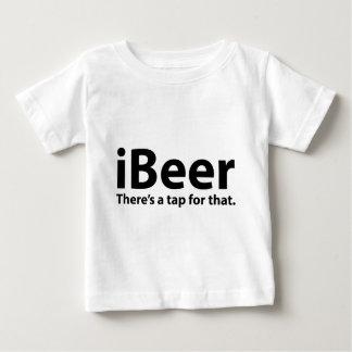 そこのiBeerはそれのためのタップです ベビーTシャツ