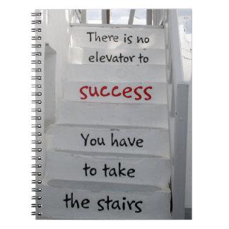 そこのMykonos階段は成功へエレベーターではないです ノートブック