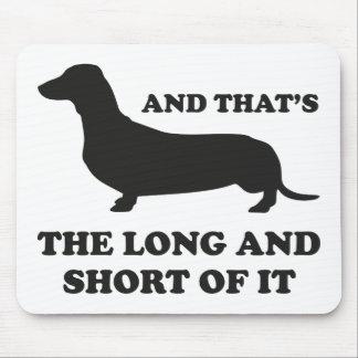 そしてそれはそれの長くそして短いです マウスパッド