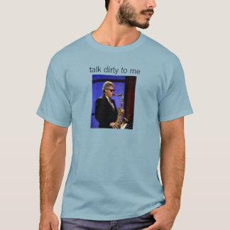 そしてサクソフォーンのTシャツの手形 Tシャツ