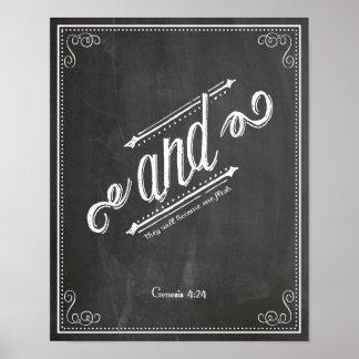 そして一緒に結合される起源の4:24 ポスター