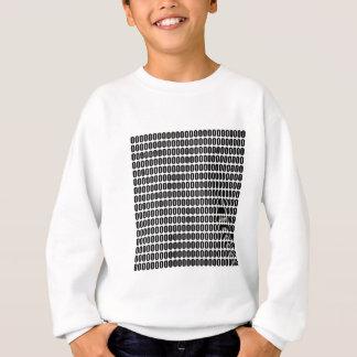 そのすべてに約0000 (黒い文字) スウェットシャツ