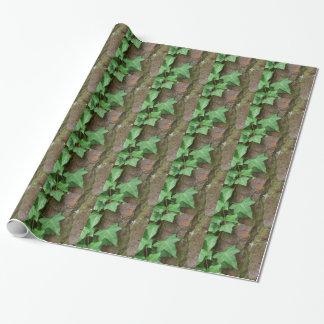 そのままでキヅタの木デザイナー戯曲包装紙 ラッピングペーパー