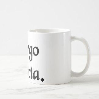 そのままな処女 コーヒーマグカップ