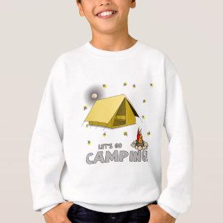 そのキャンプすることを行きます週末 スウェットシャツ