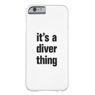 そのダイバーの事 BARELY THERE iPhone 6 ケース