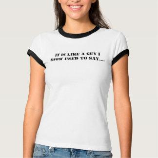 その人のティー- B&W/L Tシャツ
