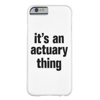その保険計理人の事 BARELY THERE iPhone 6 ケース
