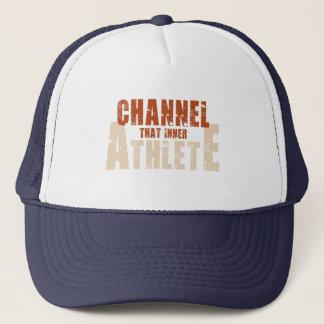 その内部のアスリートの帽子を運んで下さい キャップ