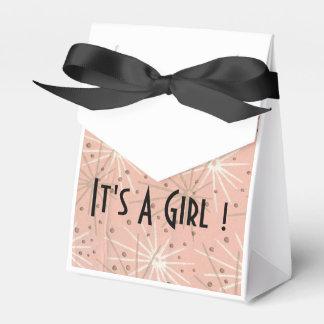 その女の子の黒の弓箱 フェイバーボックス