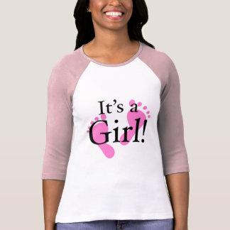 その女の子-生まれたばかりのなベビーベビーシャワー Tシャツ
