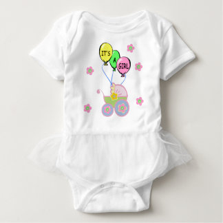 その女の赤ちゃん ベビーボディスーツ