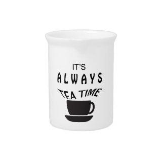 その常に茶時間 ピッチャー