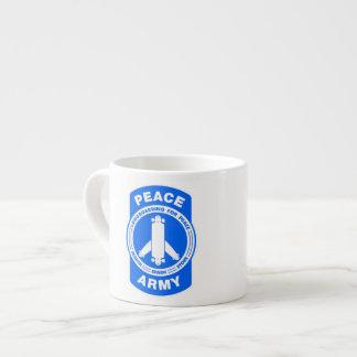 その平和軍隊の撃たれる エスプレッソカップ