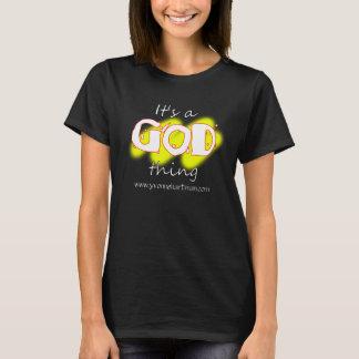 その神の事のTシャツ Tシャツ