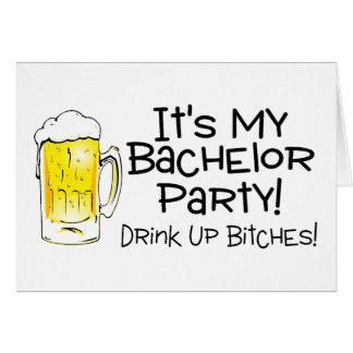 その私のバチュラーパーティビール カード