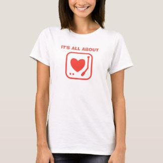 その約愛ミニマリスト Tシャツ